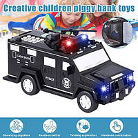 Игрушка-копилка банковский грузовик с кодовым замком и отпечатком пальца, фото 1