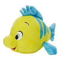 Disney мягкая игрушка рыбка Флаундер 19см - Русалочка, фото 1
