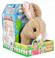 """Интерактивная игрушка """"Кролик"""", развлекательная игрушка для детей, цвет бежевый, в коробке, модель L0607"""