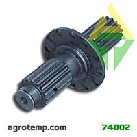 Вал редуктора привода насосов К-700 2256010-1600019