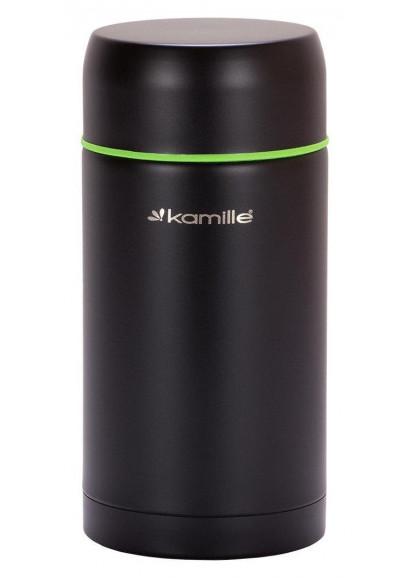 Термос Kamille KM-2093 пищевой 1 л Нержавеющая сталь