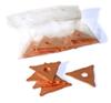Треугольники  сварочные с медным покрытием 20 шт