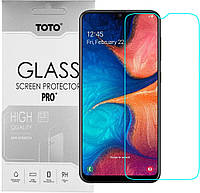 Защитное стекло TOTO Hardness Tempered Glass 0.33mm 2.5D 9H Samsung Galaxy A20 (A205)