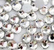 Описание Камни SWAROVSKI имитация ss 3 Crystal 50 шт прозрачные  №3
