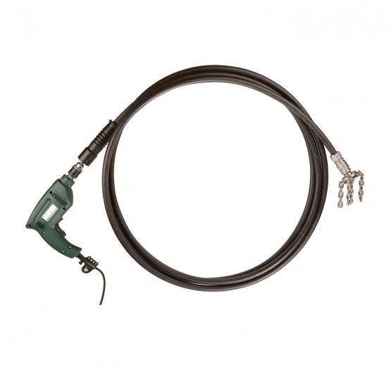 Роторный гибкий вал для чистки дымохода WOHLER 7440 10 м