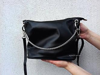 Женская кожаная сумка кросс боди