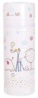 Термоконтейнер Ceba Baby Lovely World Standard 63*63*225мм  белый (жираф, слон)