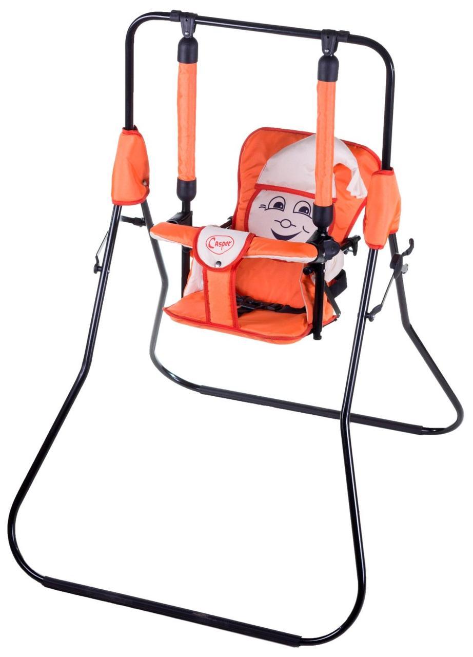 Качель Умка Casper  ярко оранжевый-бежевый