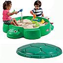 Песочница Черепаха с кришкой Little Tikes 631566, фото 7
