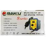 Термовоздушная ремонтная паяльная станция BAKKU BK 858L цифровая индикация, фен (262*160*140) 1,45 кг