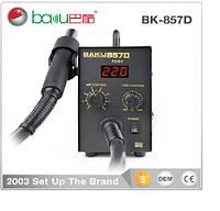 Термовоздушная ремонтная паяльная станция BAKKU BK-857D, цифровая индикация, фен (305*232*175) 2,4 кг