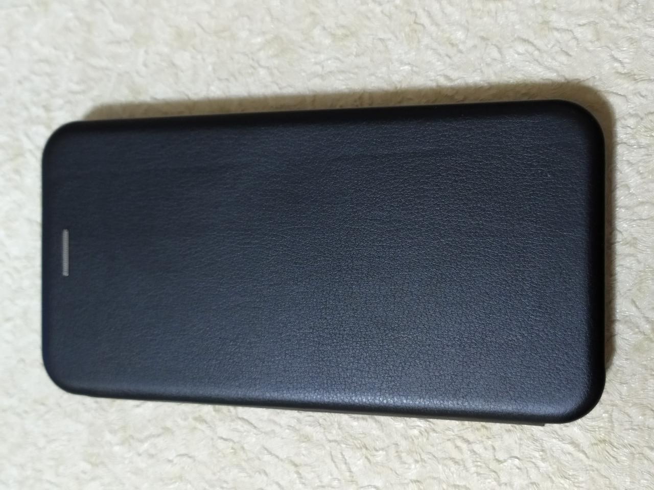 Чехол- книга Premium для Xiaomi Redmi Note 8 (черный)