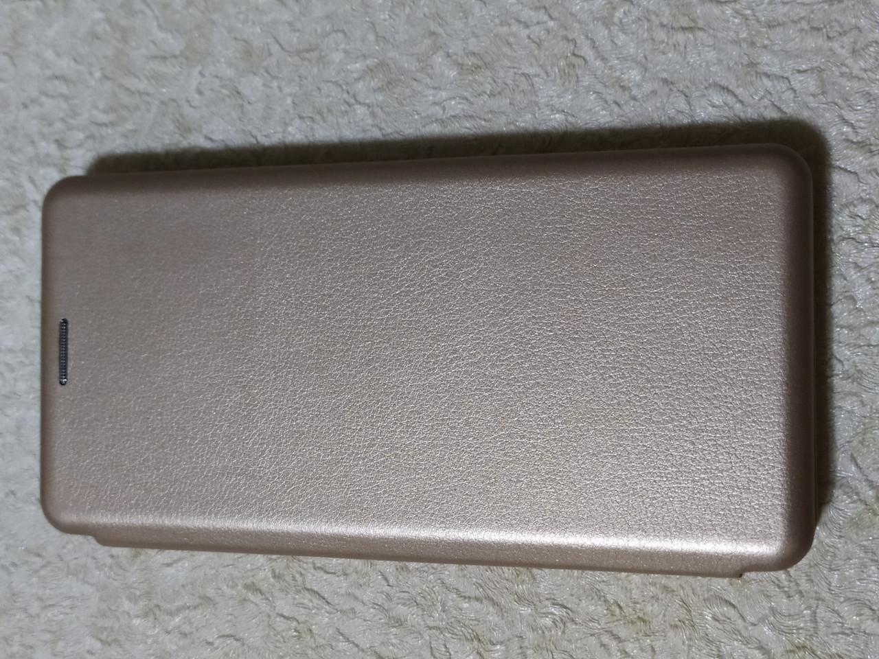 Чехол- книга Premium для Xiaomi Redmi Note 8 (золотой)