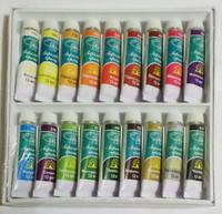 Набор акриловых красок для рисования Global, 18 шт