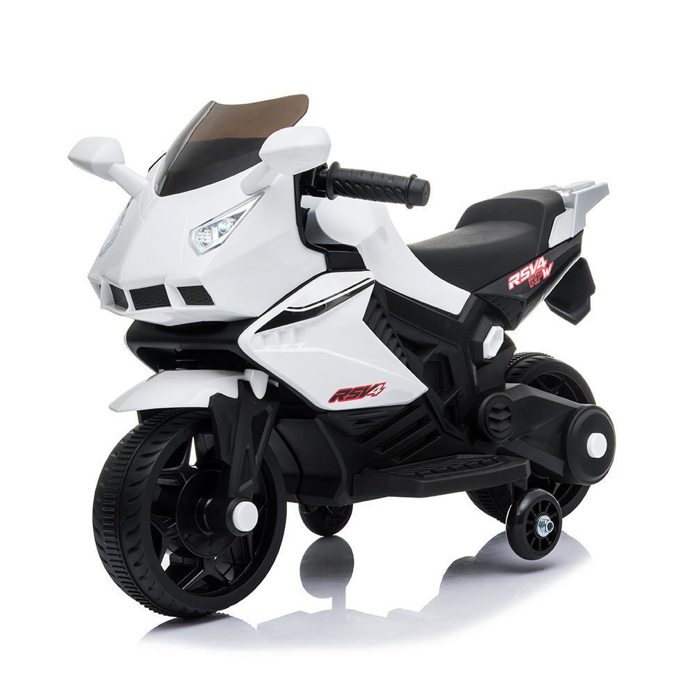 Електромобіль Мотоцикл M 4215-1 білий BAMBI