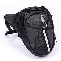 Сумка набедренная KSmoto BG-01 Черная \ Код KS03011
