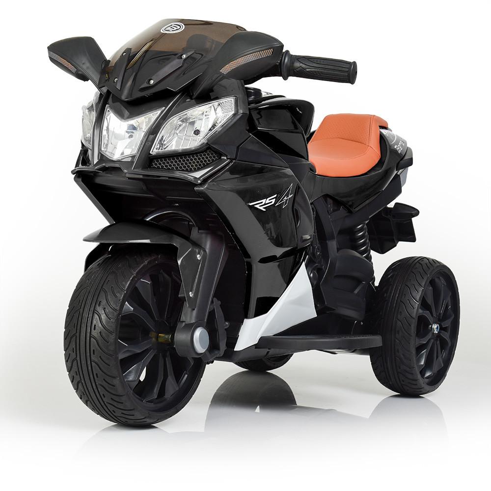 Электромобиль Мотоцикл M 3912EL-2 черный BAMBI