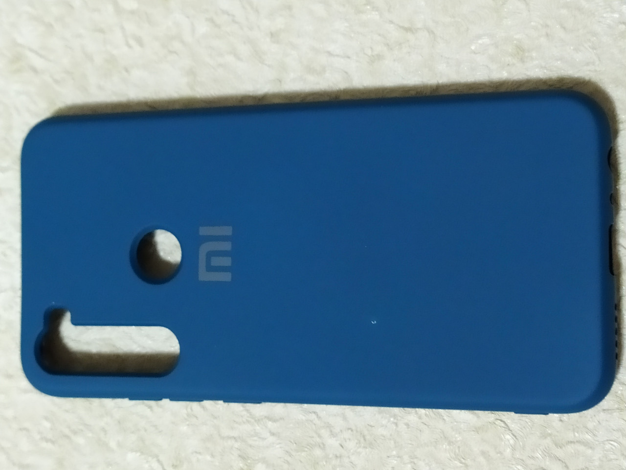Накладка   Silicon Cover full   для  Xiaomi Redmi  Note 8  (темно-синий)