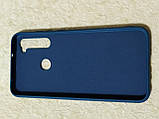 Накладка Silicon Cover full для Xiaomi Redmi Note 8 (темно-синій), фото 2