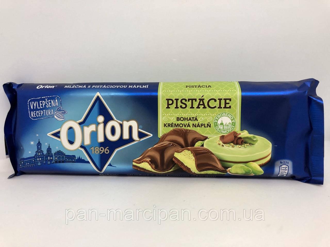 Шоколад Orion з фісташковим наповненням 240г