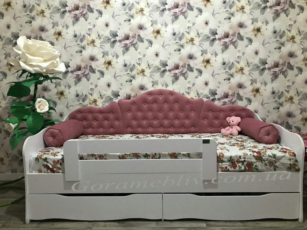"""Подростковая кровать с выдвижными ящиками """"Л-6"""" Италия"""