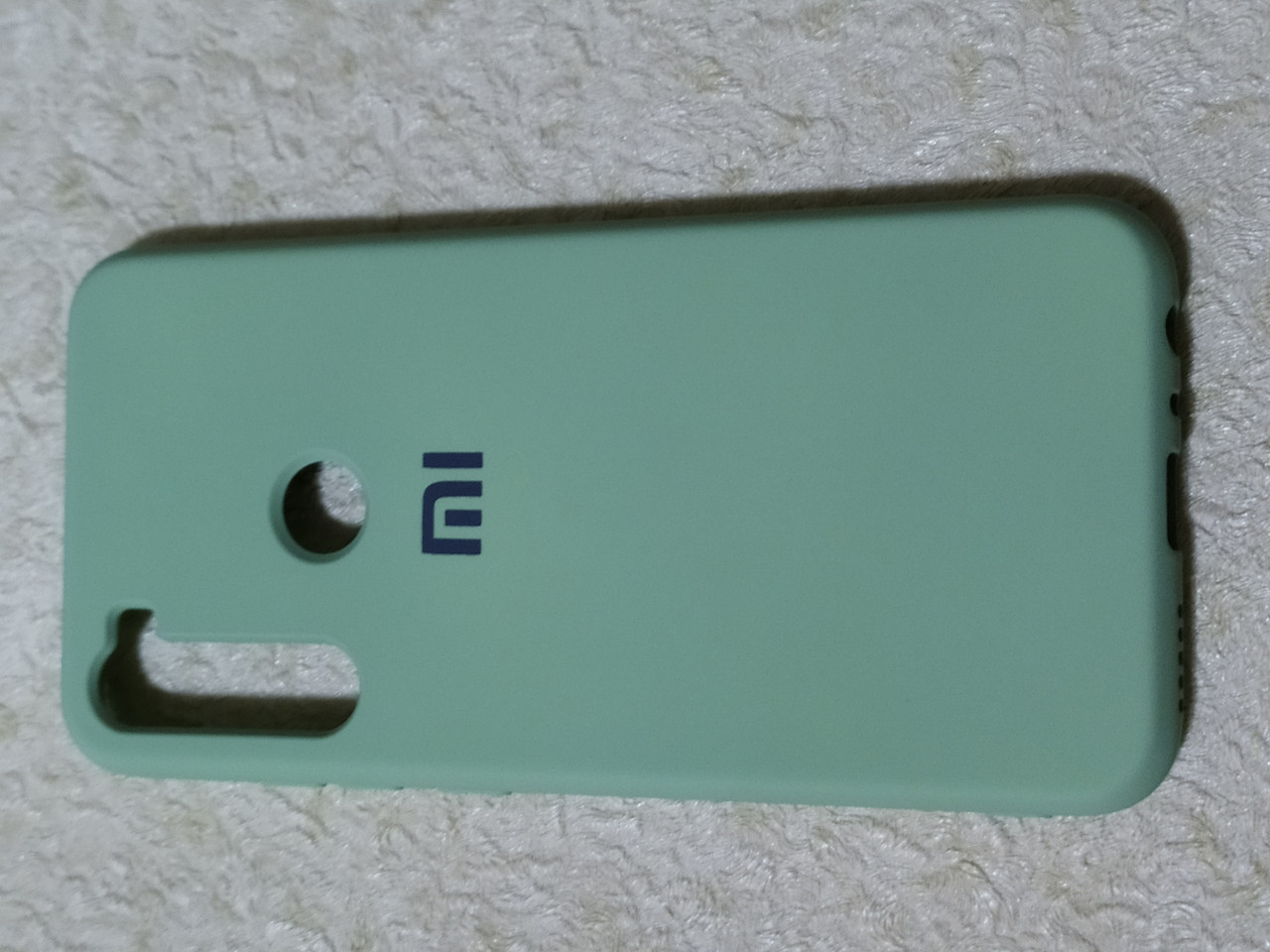 Накладка   Silicon Cover full   для  Xiaomi Redmi  Note 8  (мятный)