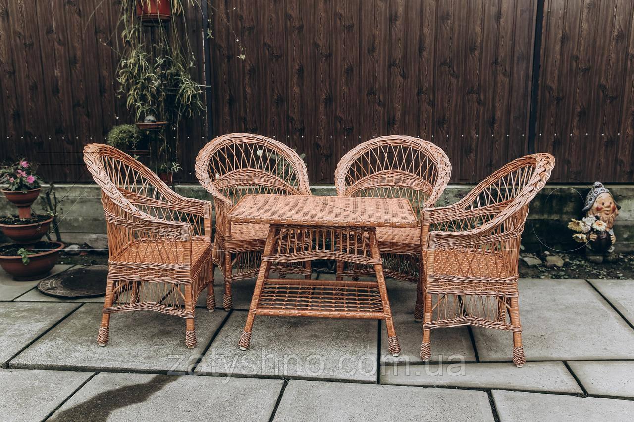 Кресла и стол плетеные из лозы   кресла плетеные из лозы    плетеные столики кресла