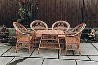 Кресла и стол плетеные из лозы   кресла плетеные из лозы    плетеные столики кресла, фото 1