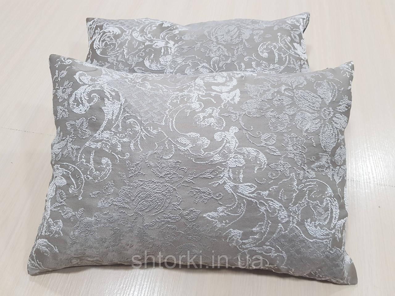Комплект подушок Кавові з малюнком, 2шт