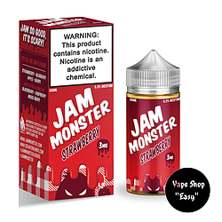 Жидкость Jam Monster Strawbbery 100 ml 3 мг USA  Original.