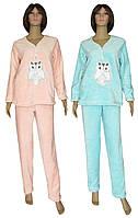 NEW! Женские махровые пижамы с вышивкой - серия Key Сова ТМ УКРТРИКОТАЖ!