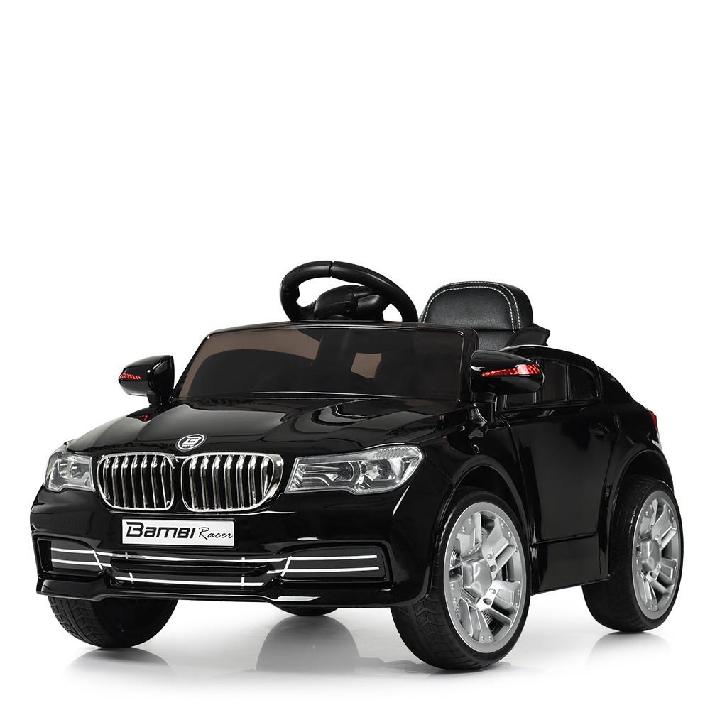 Електромобіль Машина M 3271EBLRS-2 чорний BAMBI