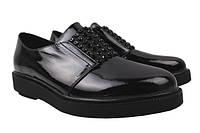 Туфли комфорт женские Lady Marcia лаковая натуральная кожа, цвет черный