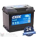 Аккумулятор автомобильный EXIDE Excell 6CT 62Ah, пусковой ток 540А [–|+] (EB620), фото 3