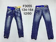 Модные джинсы для мальчиков подростковые с разрывами FD Kids,разм 134-164 см