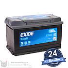 Аккумулятор автомобильный EXIDE Excell 6CT 80Ah, пусковой ток 640А [–|+] (EB800), фото 3