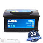 Аккумулятор автомобильный EXIDE Excell 6CT 80Ah, пусковой ток 700А [–|+] (EB802), фото 2