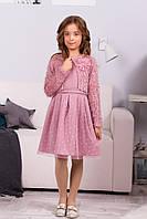 Нарядное детское платье с болеро. .