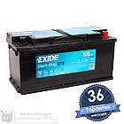 Аккумулятор автомобильный EXIDE EFB 6CT 105Ah, пусковой ток 950А [–|+] (EL1050), фото 3