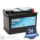 Аккумулятор автомобильный EXIDE EFB 6CT 70Ah, пусковой ток 720А [–|+] (EL700), фото 3