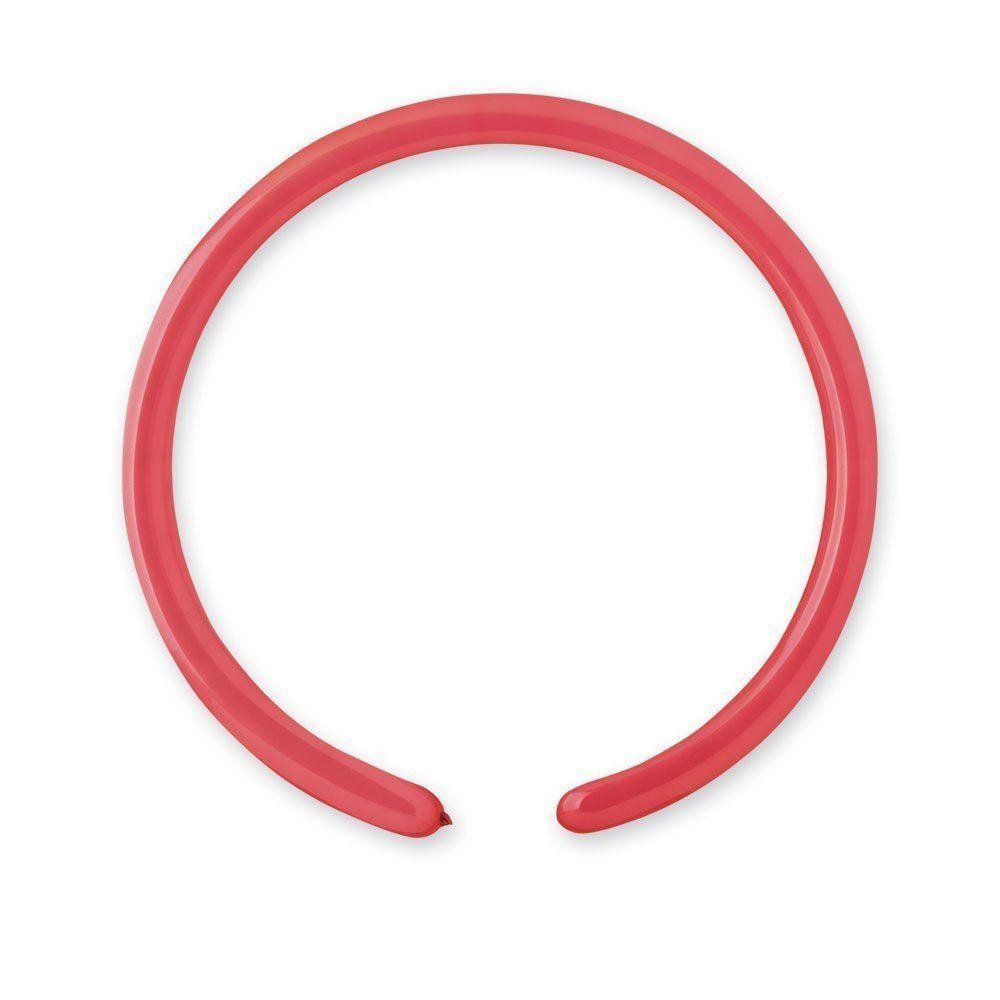 Латексные шары для моделирования ШДМ 260-2/05 пастель красный