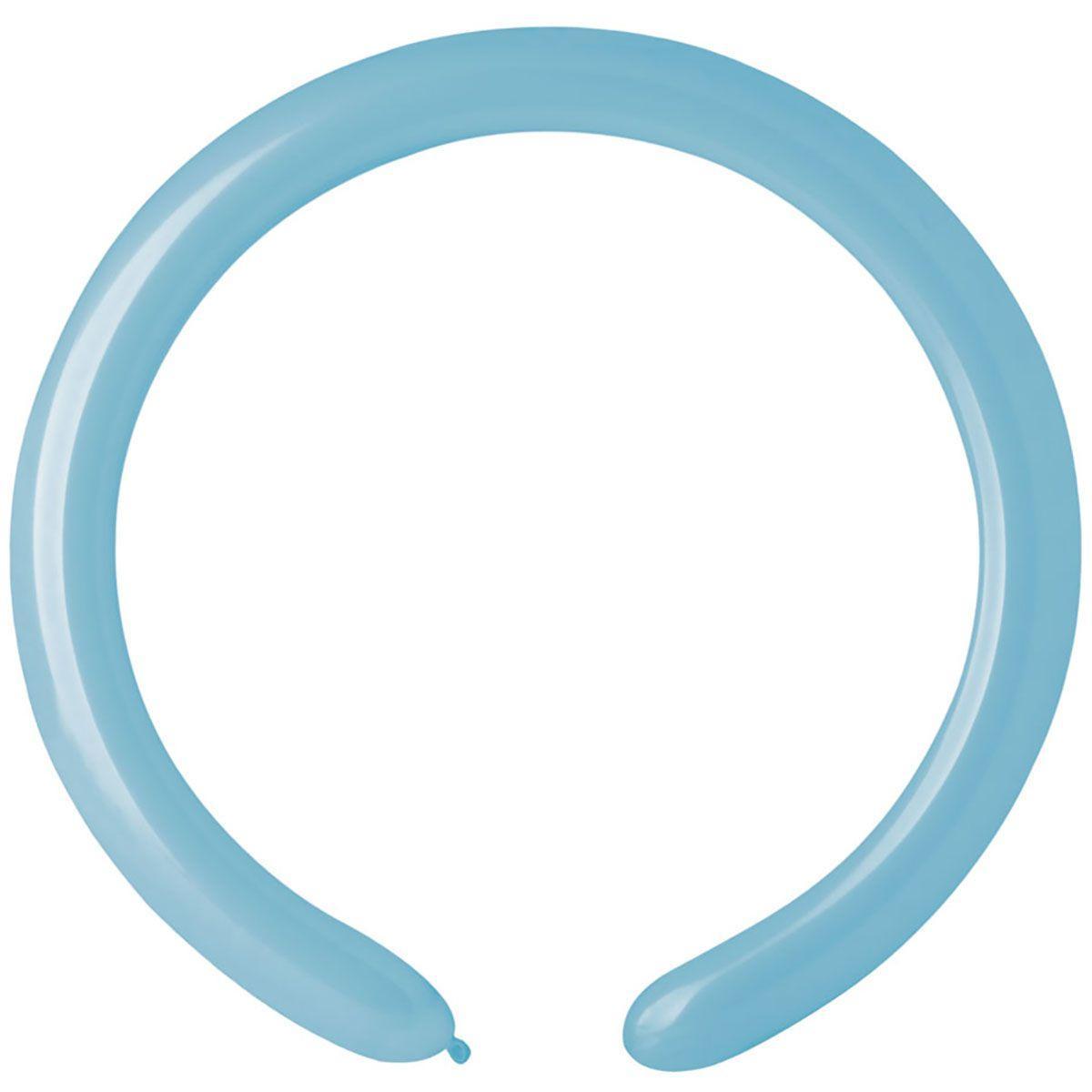 Латексные шары для моделирования ШДМ 260-2/72 голубой матовый