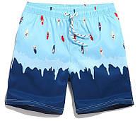 Мужские шорты для полных Qike - №2786