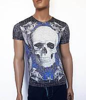 Яркая мужская футболка Sport Line - №2913