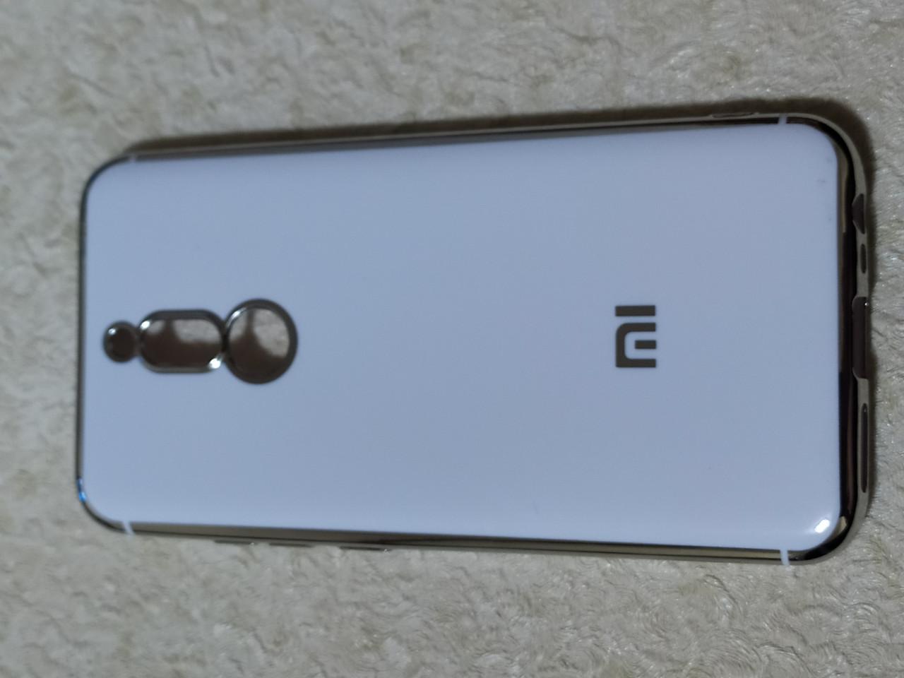 Накладка Plating Case Xiaomi Redmi 8 (білий)