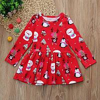 Новогоднее платье для девочки Christmas dress, фото 1