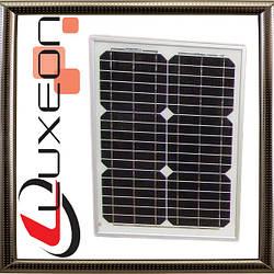 Монокристаллическая солнечная панель LUXEON 12В 20Вт