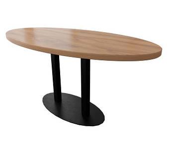 Овальный стол барный Тренд-2 двойной Металл-Дизайн