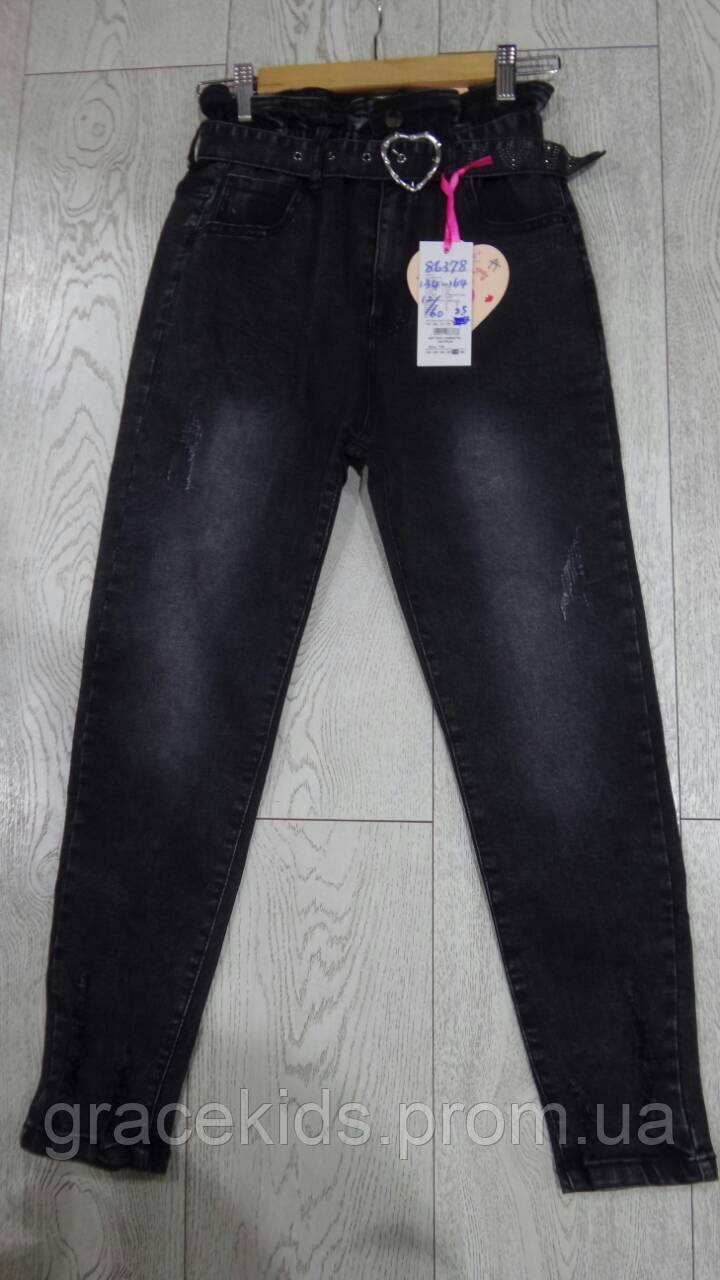 MOM джинсы для девочек подростковые оптом GRACE,разм 134-164 см