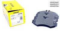 Тормозные колодки передние без датчика (система BOSCH) Mersedes Vito 638 1996-2003 TEXTAR (Германия) 2302201